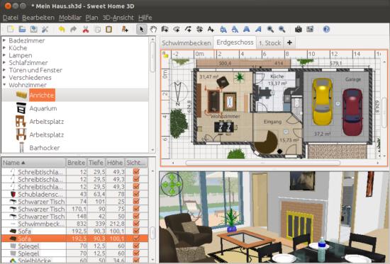 Sweet Home 3D - Diseña tu casa en 3D