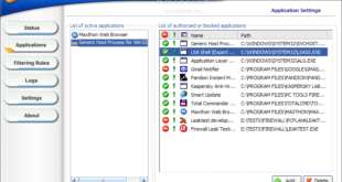 mejor cortafuegos gratis - PC Tools Firewall Plus