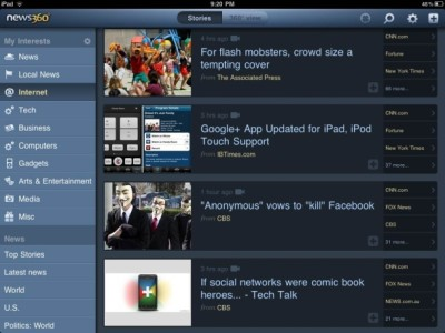 news360 - agregador lector de noticias