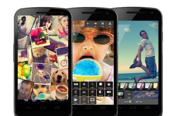 Pixlr Express mejores apps para retocar fotos