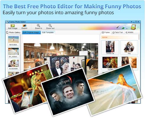 Funny Photo Maker mejores programas gratis para hacer collages