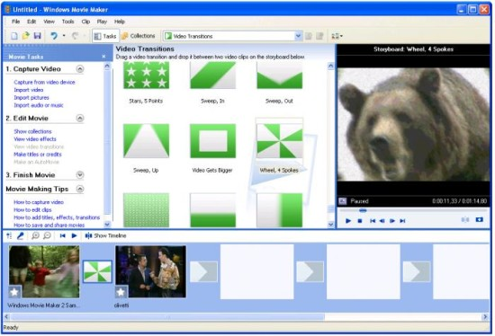 windows movie maker - mejores programas gratis de edicion de video