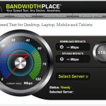 Bandwidthplace.com mejores paginas web para medir la velocidad de tu conexion a internet