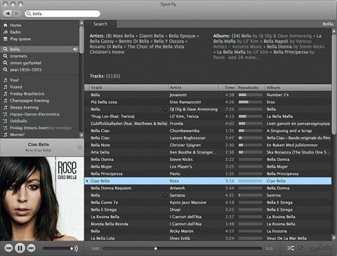 spotify - mejores servicios para escuchar musica online gratis
