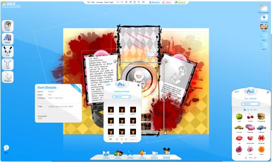 wix - Mejores sitios para crear una página web gratis