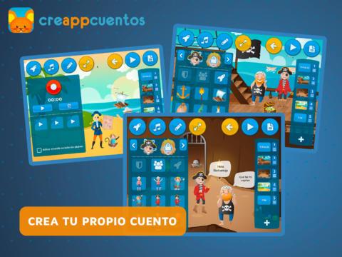 Creappcuentos - mejores apps educativas gratis