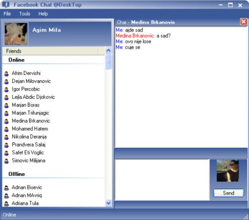 Facebook Chat @Desktop - mejores apps y utilidades gratis para Facebook