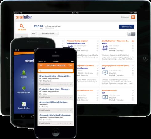 Career Builder - mejores apps para buscar trabajo