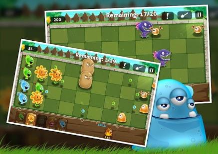 Plants vs Monsters - mejores juegos online gratis