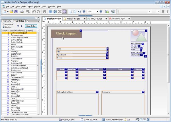 mejor software bmp gratis - Adobe LiveCycle