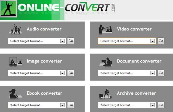 mejores conversores de video online gratis - online-convert