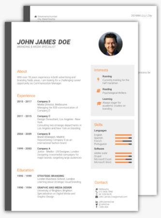 6 mejores páginas para crear un currículum gratis