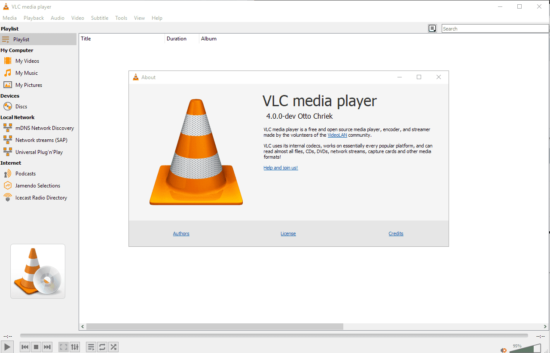 mejores reproductores de video gratis vlc player