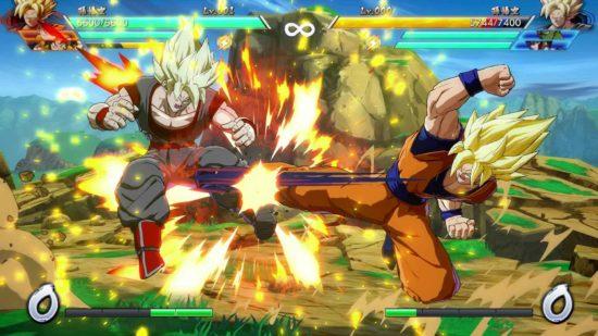 Mejores juegos de lucha anime - Dragon Ball FighterZ