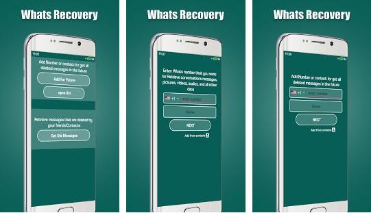 Aplicación popular para restaurar chats perdidos o eliminados en WhatsApp