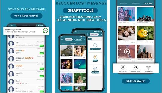 La mejor aplicación para ver los chats, vídeos y fotos de WhatsApp eliminados