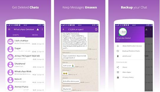 App Para Ver Los Mensajes De WhatsApp Eliminados