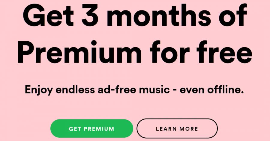 Prueba gratuita de Spotify Premium durante 90 días o 3 meses