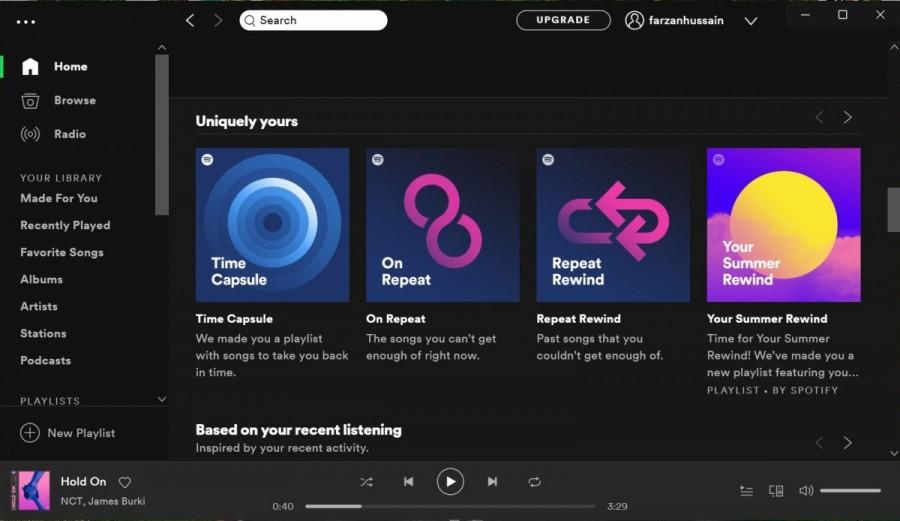 Spotify Windows versión antigua modded
