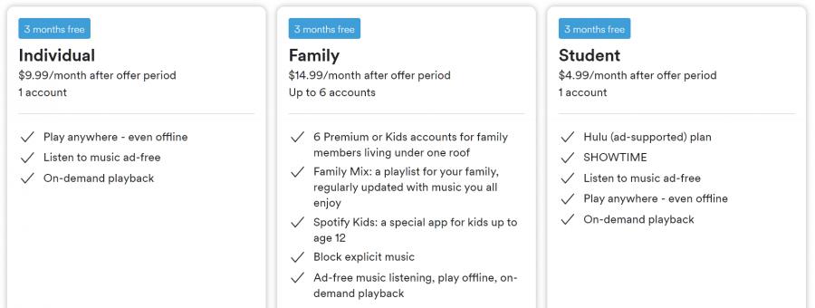 Planes Spotify Premium