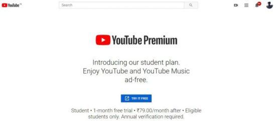 Cómo conseguir una cuenta con descuento para estudiantes de Youtube premium