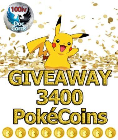 Cómo obtener PokeCoins en Pokémon GO participando en concursos y sorteos