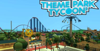 mejores juegos roblox para móviles - Theme Park Tycoon 2