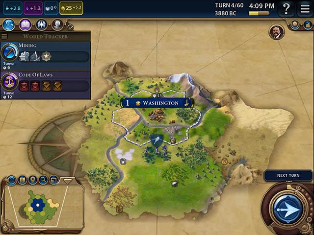 civilización vi ipad mejor juego de estrategia para ipad
