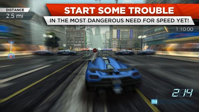 11). Need for Speed: Most Wanted