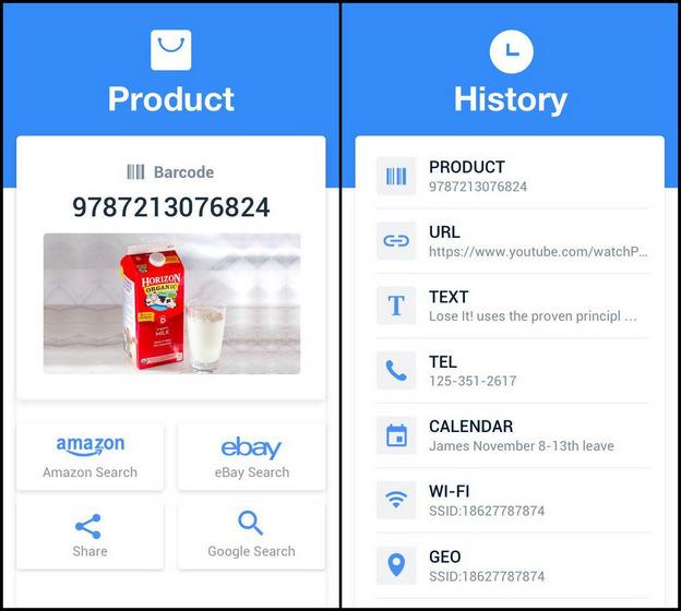 Escáner QR gratuito: escáner de código de barras, lector de códigos QR de InShot