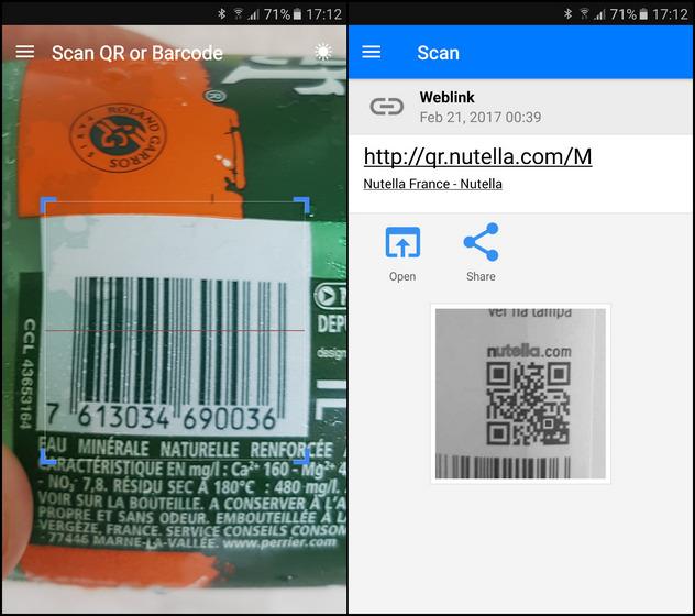 QR y Barcode Scanner de Gamma Play