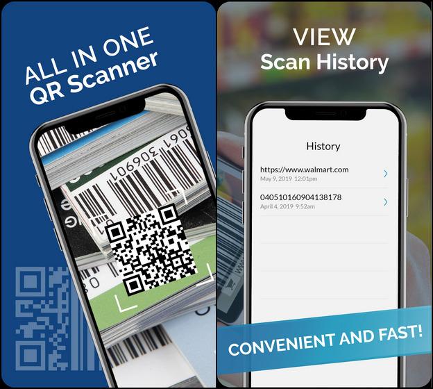 Escáner de código de barras QR gratuito: escáner QR / lector de códigos QR
