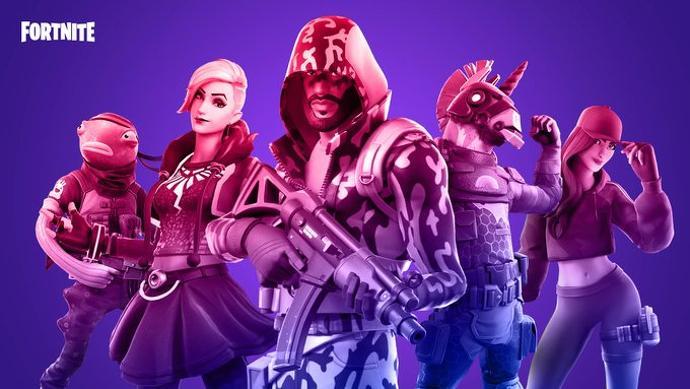 Algunos personajes de Fortnite se alinean