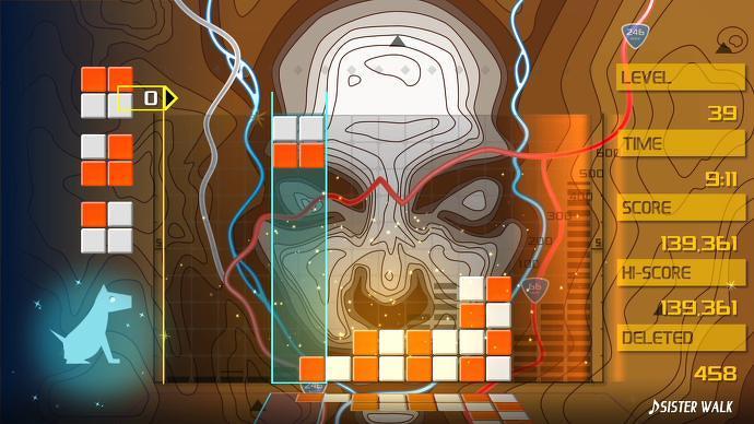 Juego de Lumines Remasterizado