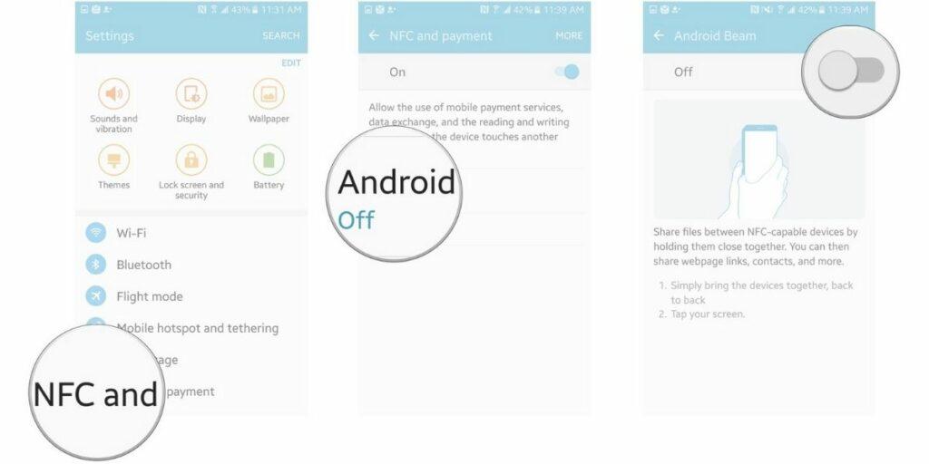 Cómo activar NFC en tu móvil Android