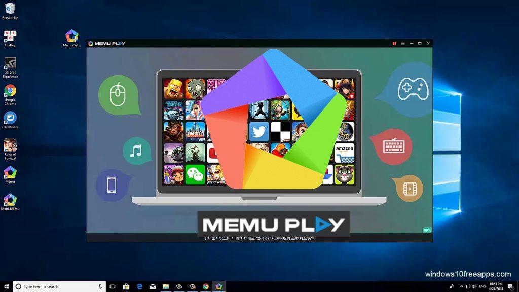 Memu play: juega juegos de Android en Windows