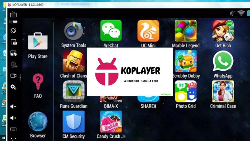 KO Player: juega juegos de Android en Windows PC