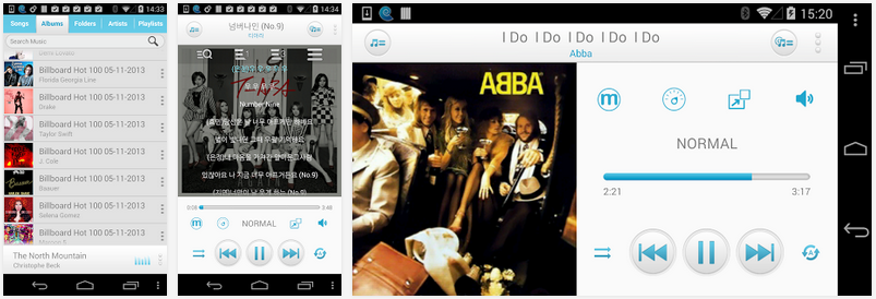 android music player maven player