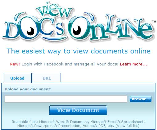 ver documentos en línea