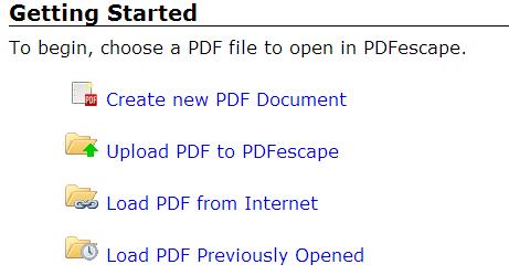 subir pdf a pdfescape