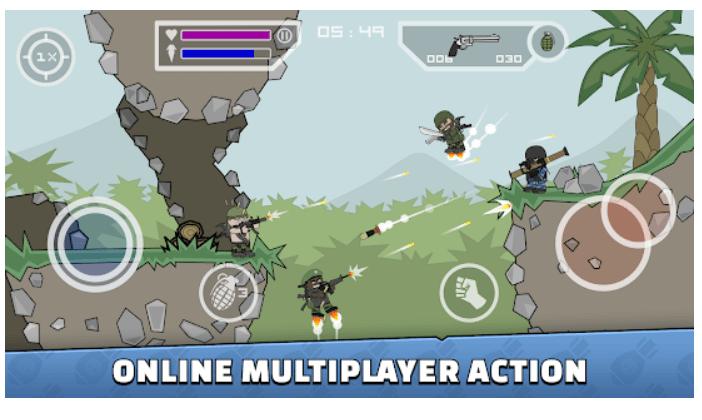 Mini Milicia - Doodle Army 2