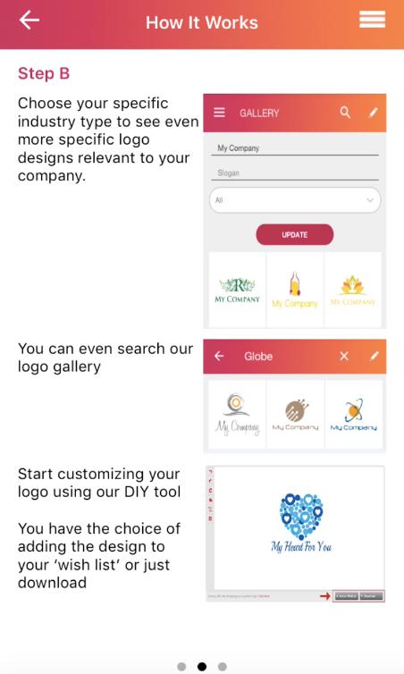 DesignMantic - Aplicación para crear logos