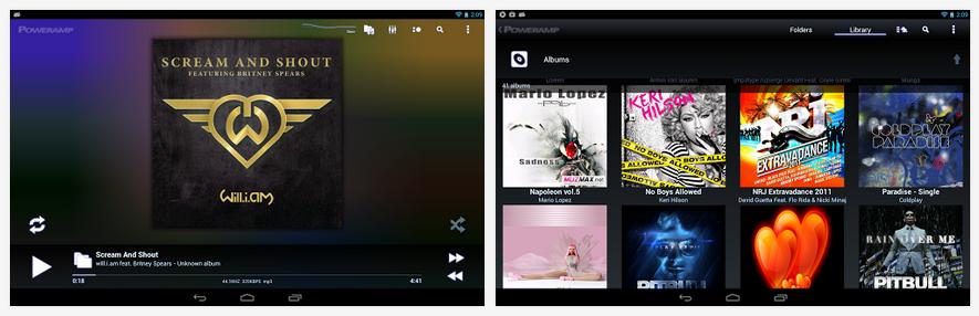 poweramp mejor reproductor de música para android