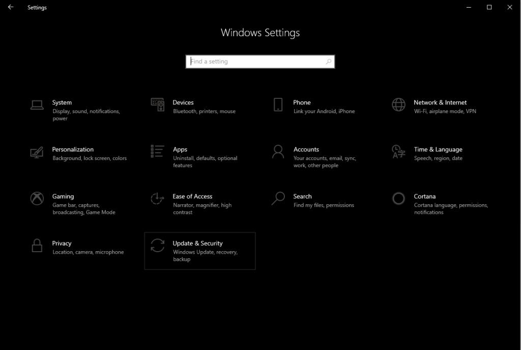 Use Copia de seguridad para restaurar archivos eliminados en Windows 10-1