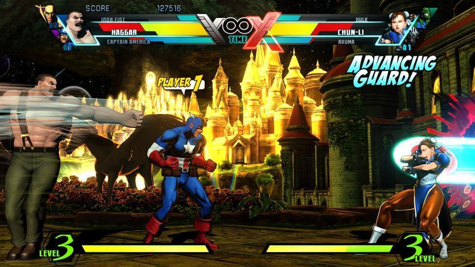 Ultimate Marvel Vs Capcom 3 - los mejores juegos de lucha