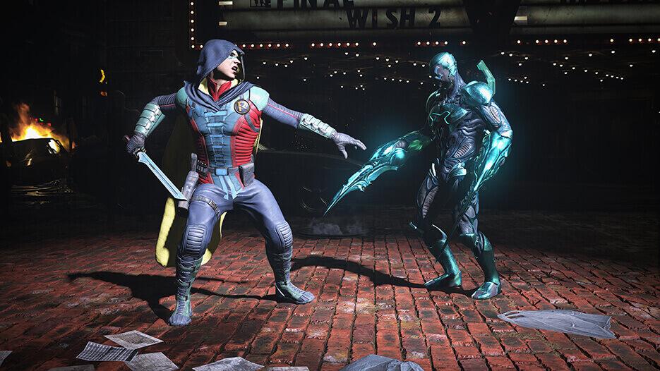 Injustice 2 mejor juego de lucha