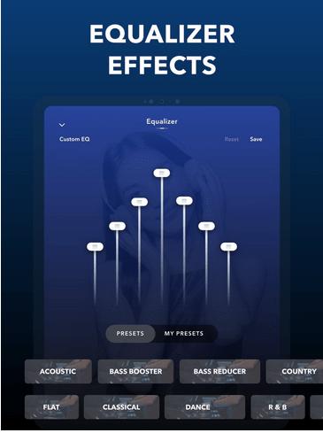Equalizer FX: Aplicación Bass Booster