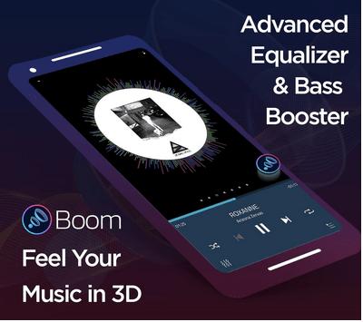 Boom: amplificador de graves y ecualizador