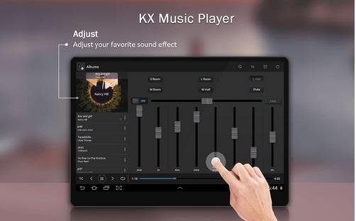 Reproductor de música KX
