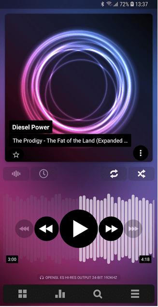 Reproductor de música Poweramp